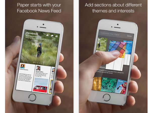 Facebook's Paper App For iOS Updated With Multiple Features