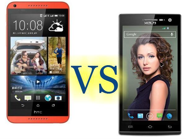 Xolo Q1010i Vs HTC Desire 816: Specs Comparison