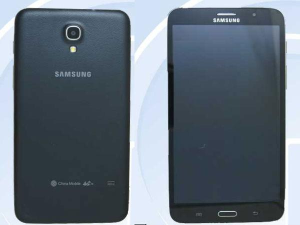 samsung sm t2558 7 inch smartphone like tablet leaks. Black Bedroom Furniture Sets. Home Design Ideas