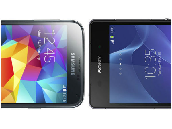Sony Xperia Z2 vs. Samsung Galaxy S5 - Display
