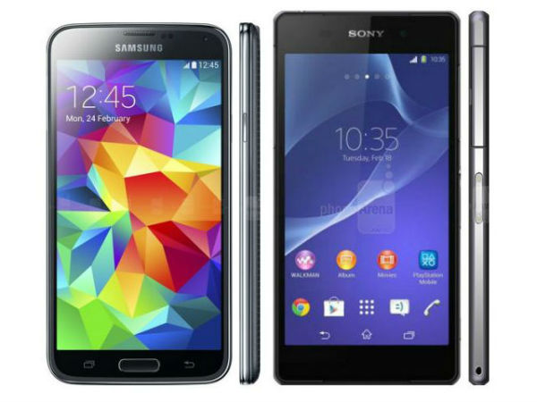 Sony Xperia Z2 vs. Samsung Galaxy S5- RAM, Memory and Battery