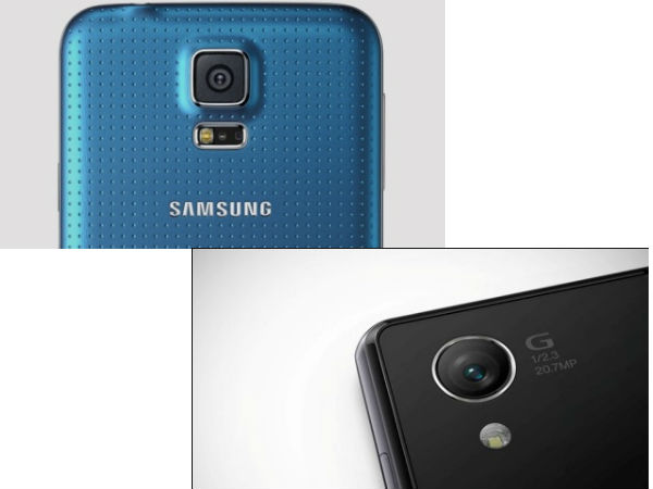 Sony Xperia Z2 vs. Samsung Galaxy S5- Camera