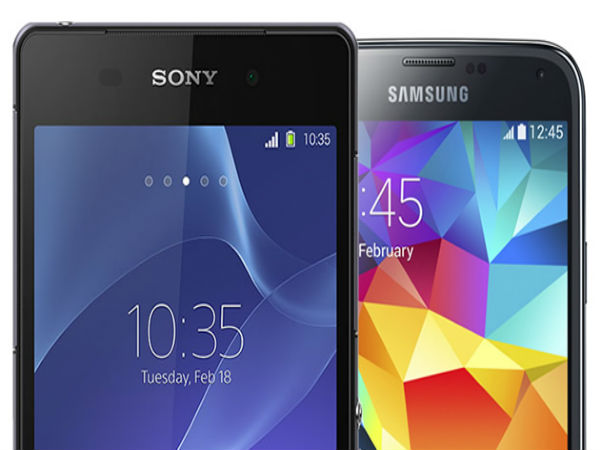 Sony Xperia Z2 vs. Samsung Galaxy S5- Waterproof and dust resistant