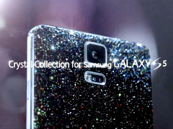 Samsung Galaxy S5 Crystal Edition To Launch Next Month [Video]