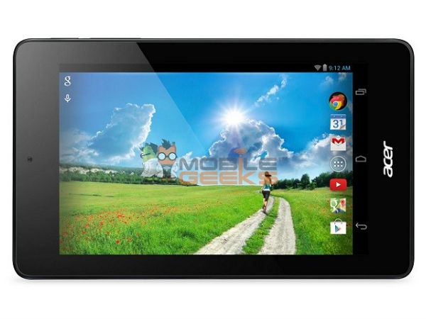 Acer Iconia Tab B1-730 HD Launch Date Set For April 29