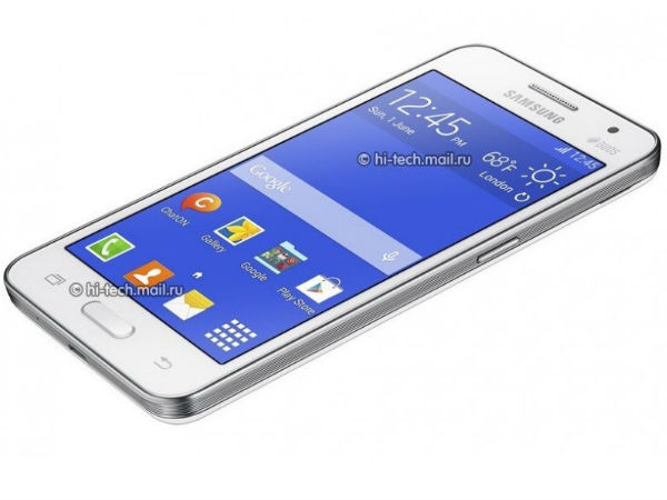 Samsung Galaxy Core 2 Leaks Online Revealing 4.5-Inch Display