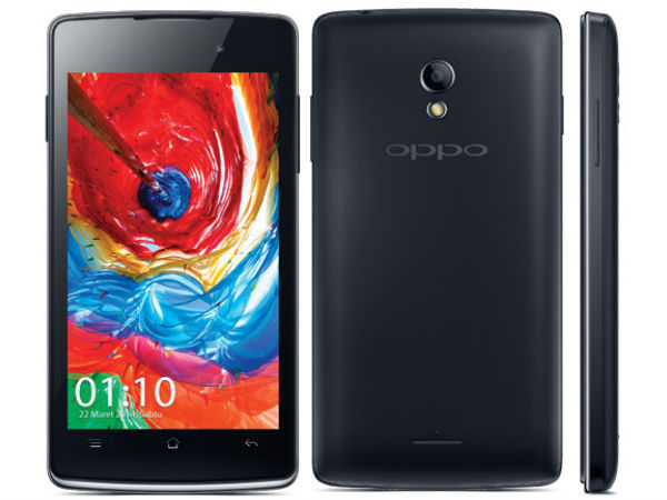 Oppo Joy with 4-inch Display and Dual-Core CPU Announced
