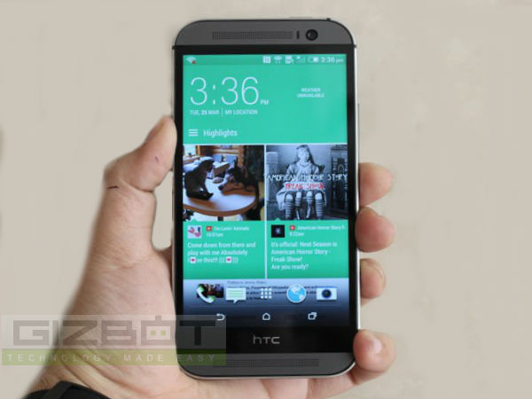 HTC One M8 Listed Online: Now Available At Rs 48,120