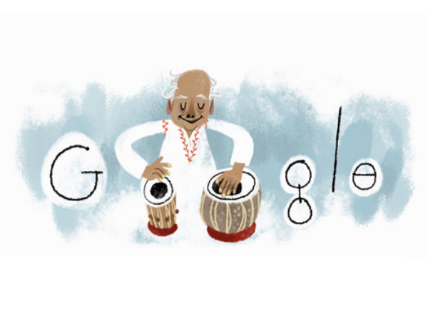 Google Doodle Celebrates 95th Birth Anniversary Of Ustad Alla Rakha