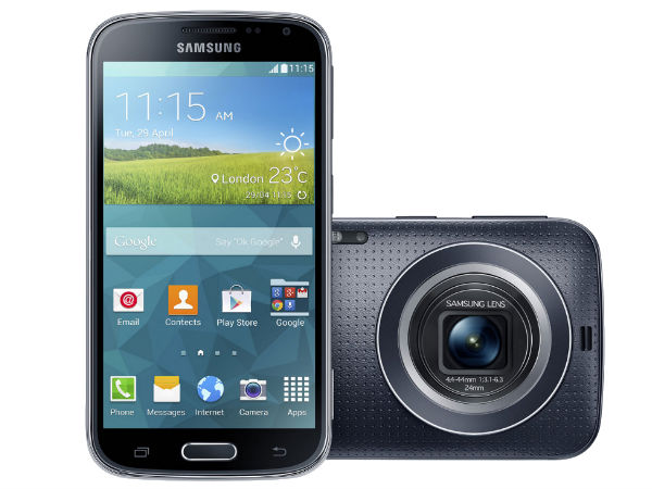 Samsung Galaxy K Zoom Smartphone With 20.7MP Camera Unveiled