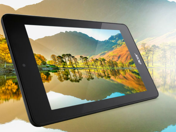 Acer Iconia Tab 7 and Iconia One 7 Android-Powered Tablets