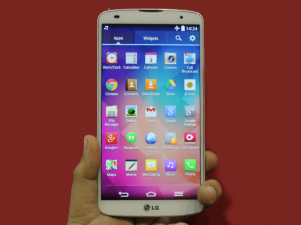 LG G Pro 2: 5.9 Inch FHD Smartphone Now Available Online in India