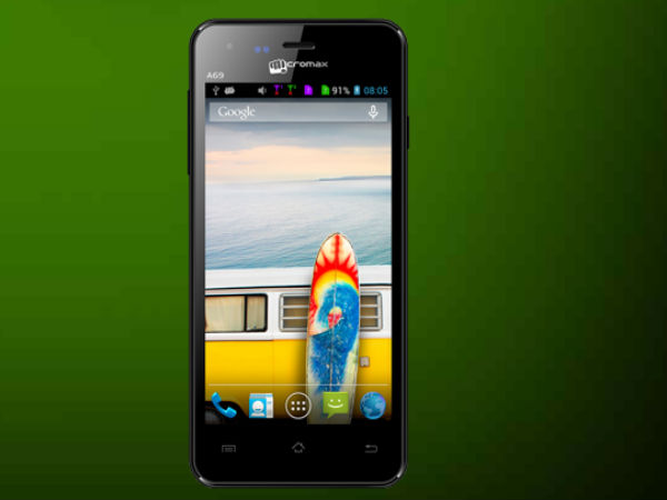 Micromax Bolt A69 Gets Listed on Company Website