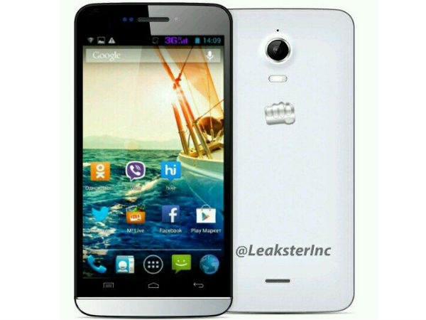 Micromax 4G Smartphone Leaks Online: Set to Launch By June 2014?