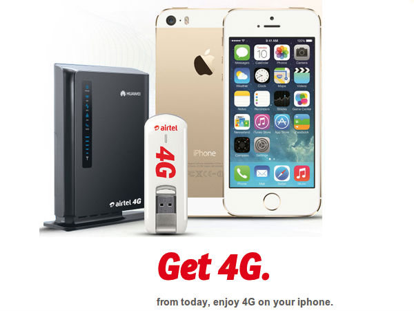 Airtel's 4G Service For Mobile Users Now Launched in Chandigarh