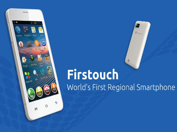 Firstouch Smartphone Can Translate English Text to Indian Languages