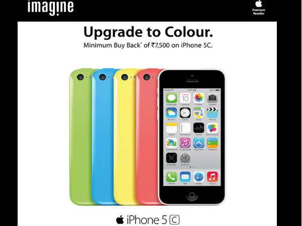 Apple Offers Minimum Discount Of Rs 7,500 On iPhone 5C: Limited Perio