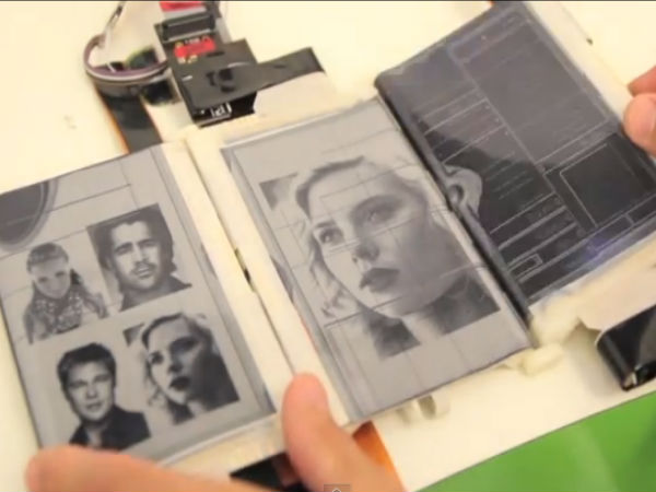 Foldable Smartphone PaperFold With 3 Displays Transforms into Tablet