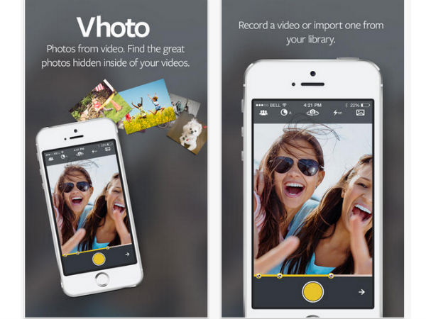 Vhoto App Extracts Best Photos From iPhone Videos [Download Link]