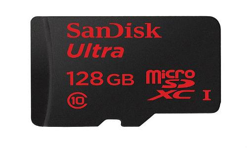 SanDisk Announces 128GB microSD Card at Rs 9,999