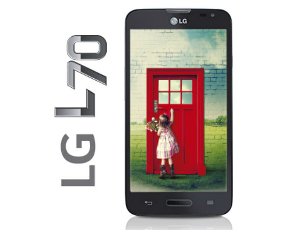 LG L70 Dual: Buy At Price of Rs 13460