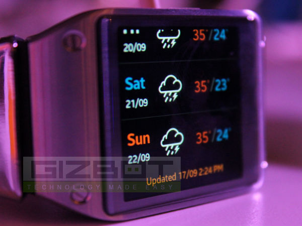 Samsung Gear 2 Solo Smartwatch With Cellular Capabilities ...