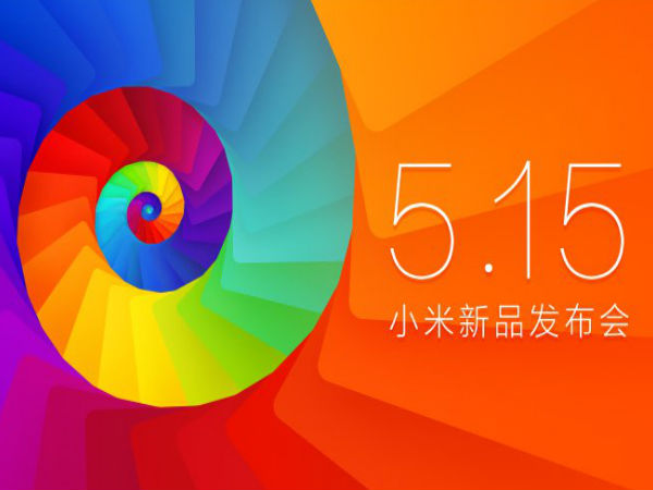 Xiaomi Event Scheduled On May 15: Mi3S, MiPad and More Expected
