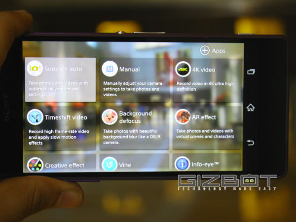 Sony Xperia Z2 Hands on Review and First Look