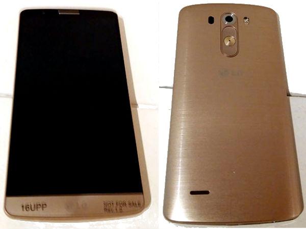 LG G3 Gold Variant Leaks Online: Features 2K Display, Impressive Camer