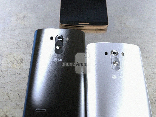 LG G3 Latest Leak Shows Brushed Metal Rear Panel