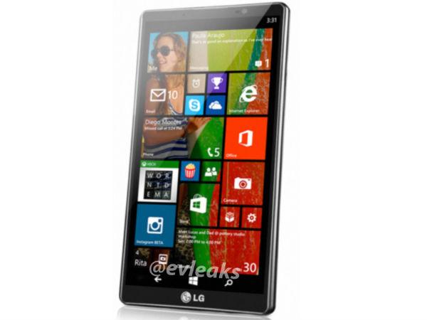 LG Uni8 Leaked Online Touting Windows Phone 8.1 OS