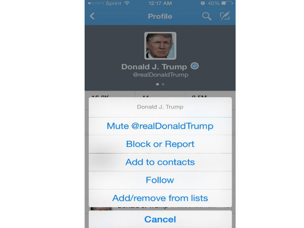 Twitter Launches 'Mute' Button to Block Irritating Tweets