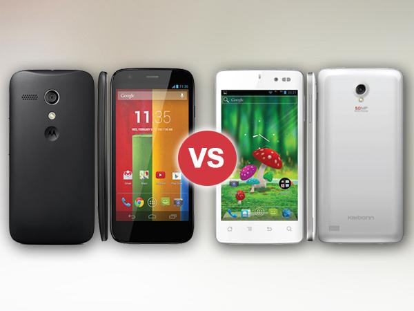 Motorola Moto E Vs Karbonn Titanium S1 Plus: Specs Comparison
