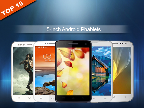 Top 10 5 Inch Android Phablets Under Rs 10,000 To Buy in India