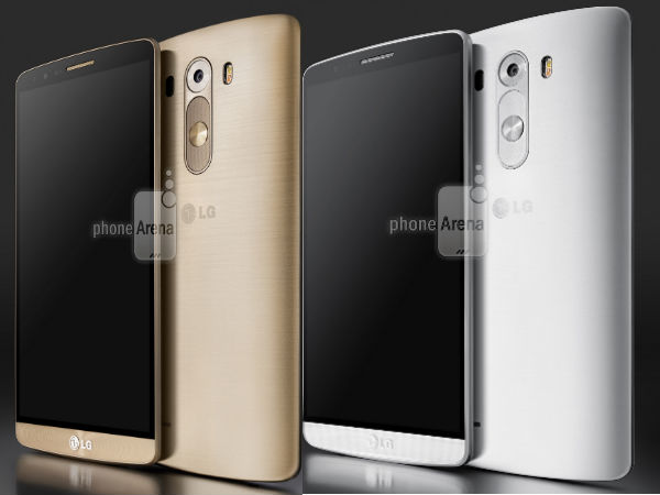 LG G3 Leaks In Gold Variant with Metal Finish