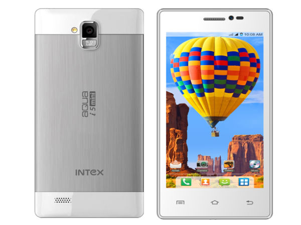 Intex Aqua i5 mini Smartphone Gets Listed on Company Website