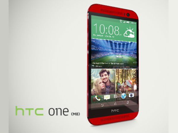 HTC One M8 Smartphone in Red Now Official in Taiwan