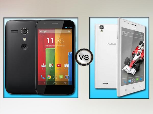 Motorola Moto E Vs Xolo A600: Specs Comparison