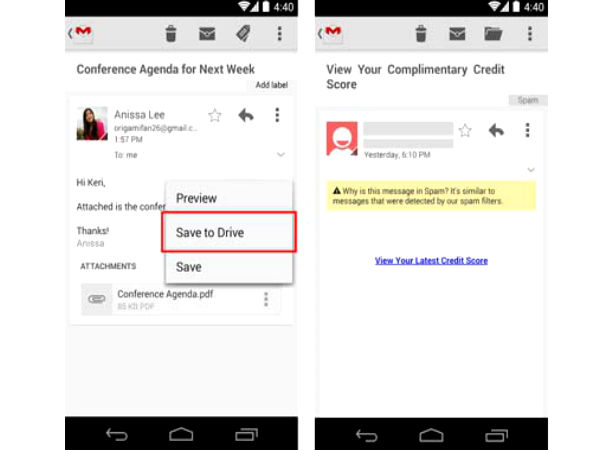 Gmail App For Android Updated With New Language Support and More