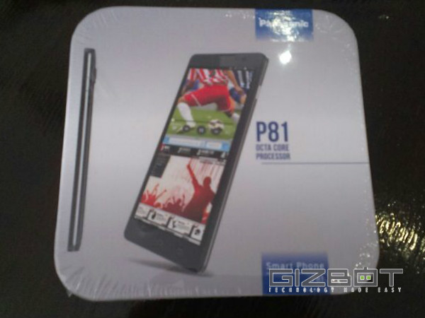 Panasonic P81 Press Images Revealed: Look At What's Inside the Box