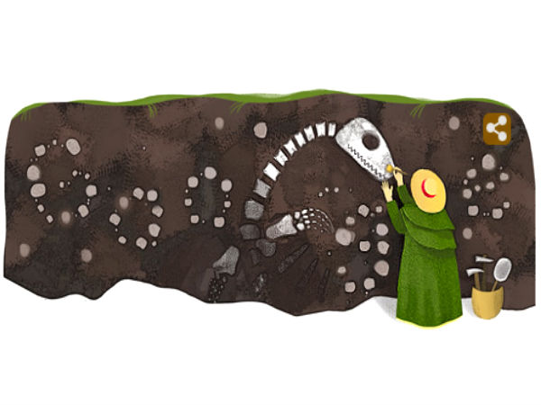 Google Doodle Highlights Mary Anning's 215th Birth Anniversary
