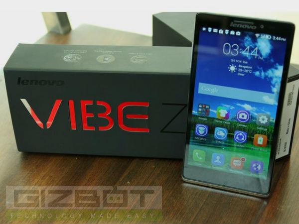 Lenovo Releases Android KitKat Update For Vibe X, Vibe Z