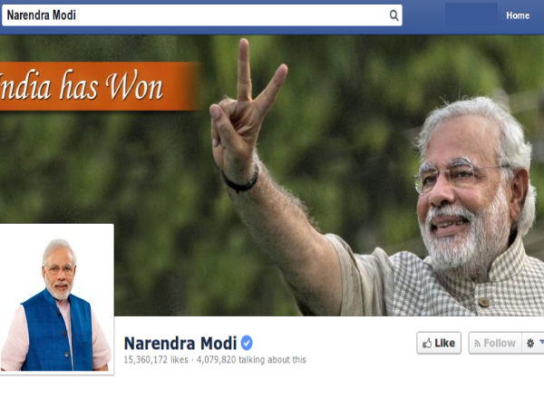 Modi makes debut on Chinese Social Media ahead of China visit