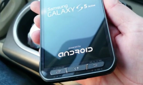 Samsung Galaxy S5 Active Hands On Video Posted Online Ahead of Launch