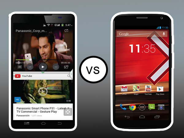 Panasonic P81 Vs Motorola Moto X: Specs Comparison