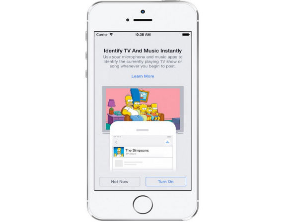 Facebook Announces New Music, TV Recognition Apps For Android and iOS