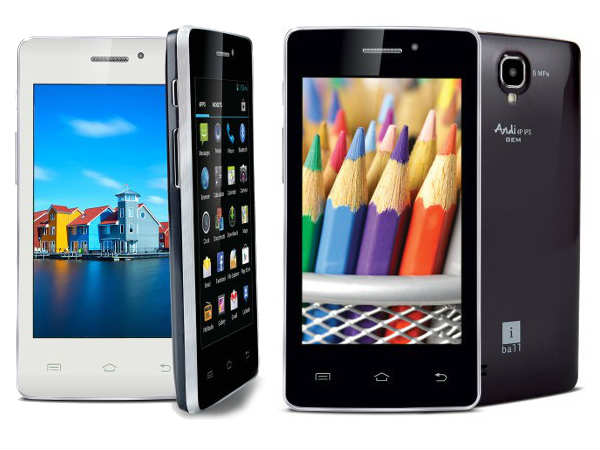 iBall Releases Andi4 IPS Velvet and Andi4 IPS GEM For Rs 4,098 and Rs