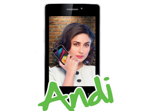 iBall Andi4 IPS Tiger Quad-Core Smartphone Launched for Rs 6,299