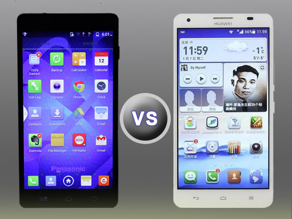 Huawei Honor 3X Pro vs Panasonic P81: Octa-core Shootout