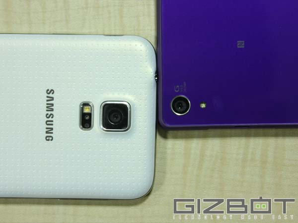 Galaxy S5 Vs Xperia Z2: Camera